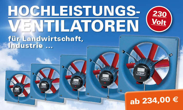 Multifan-Ventilatoren