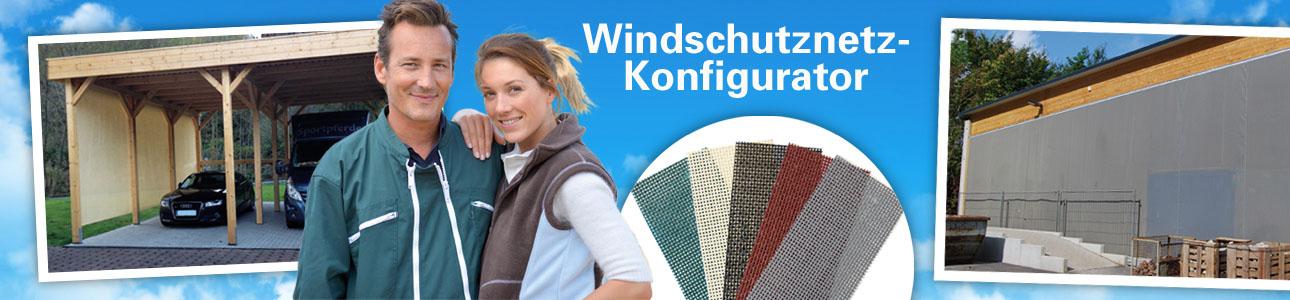 Windschutznetz-Konfigurator