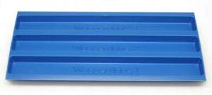 Wasserrinne blau