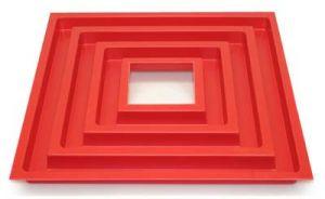 Wasserrinne rot