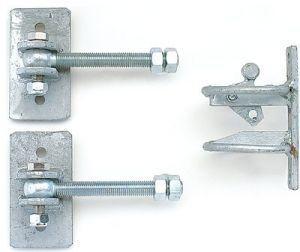 Beschlag-Set verstellbar für Comfortline-Weidetor