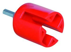 Einschraubhilfe für  Ring-Isolatoren