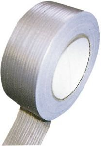 Silberband 50mm - 50 m Rolle