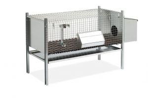 Metall-Kaninchenkäfig