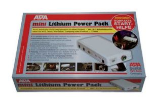 Mini Lithium Power Pack mit Starthilfe, 200 A