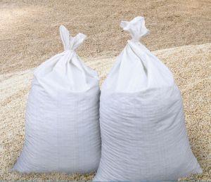 Getreidesäcke weiß
