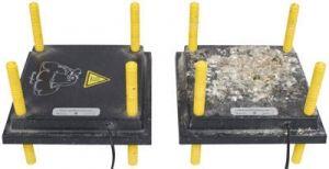PVC-Abdeckung für Wärmeplatte