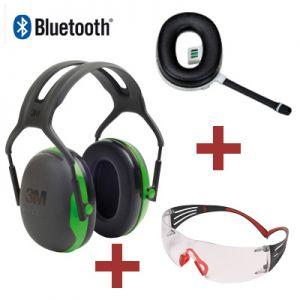 3M Peltor X1 Kapselgehörschutz mit Bluetooth Freisprecheinrichtung