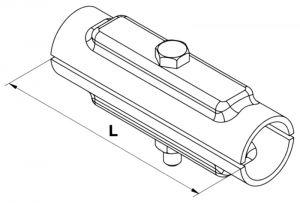 Rohrverbinder verzinkt