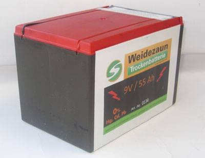 Trockenbatterie Zink/Kohle