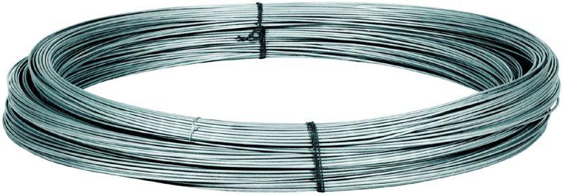 Weidezaun Litze Draht Weidezaundraht Zaun Drahtlitze verzinkt 1000m 1,5 mm