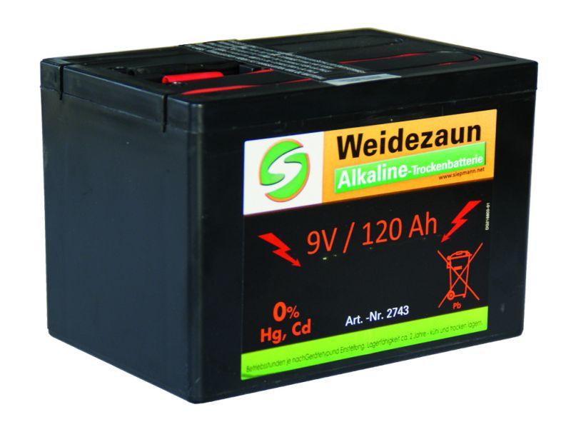 Alkaline Trockenbatterie