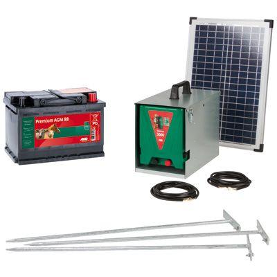 Solar-Weidezaun-Set  12 Volt