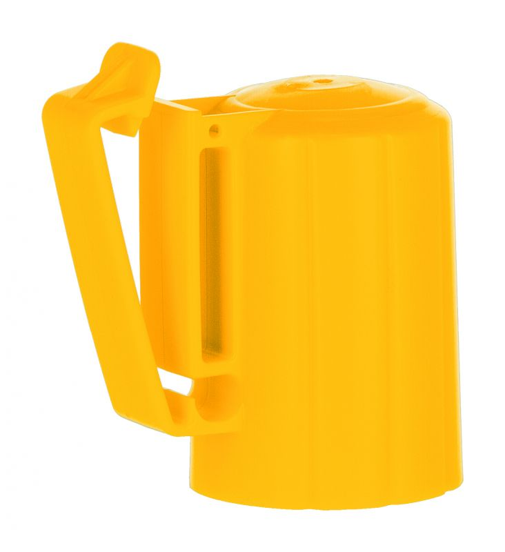 Kopfisolator T-Post gelb