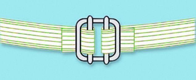 Bandverbinder für Breitbandlitze