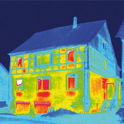 Wärmebild Haus