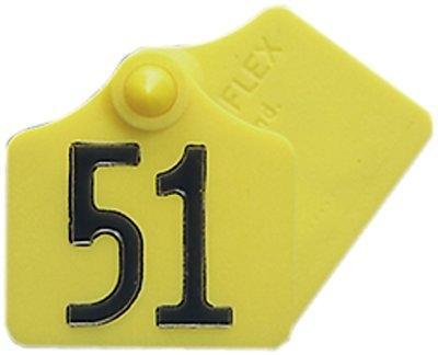 Primaflex Ohrmarken Gr. 1 = 4,5 x 4,5 cm