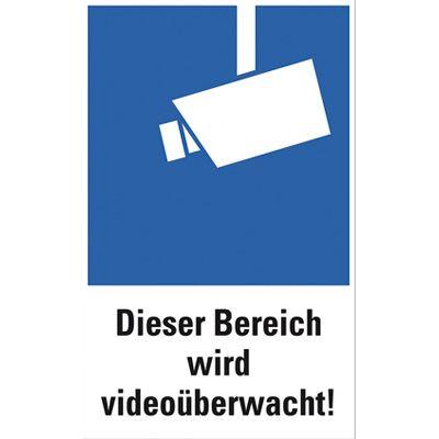 """Schild  """"Videoüberwachung"""""""