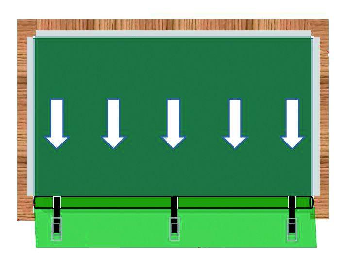 Montageskizze Abspannung zum Boden