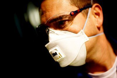 3M™ Atemschutzmaske Aura™ 9322+