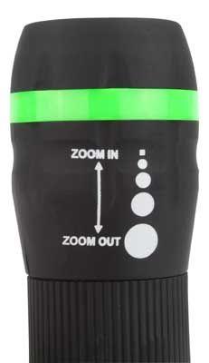 LED-Taschenlampe Zomm-Einstellung