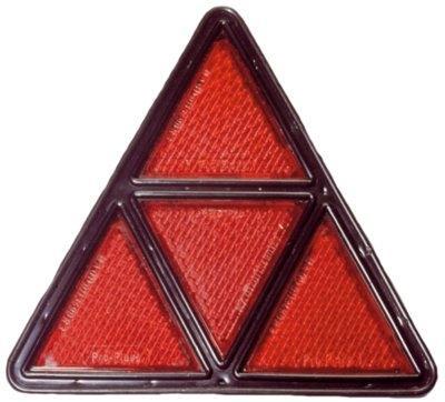 Dreieckrückstrahler  in Kunststofffassung