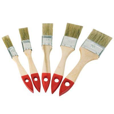Flachpinsel-Set  5-teilig