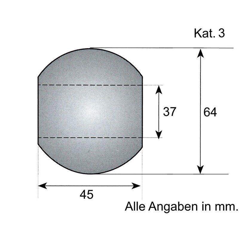 Unterlenker-Kugel Kat. 3