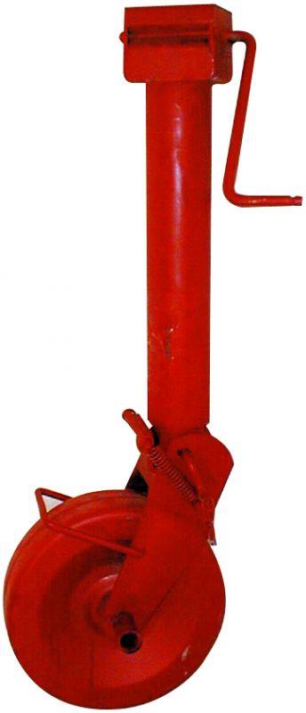 Stützrad mit halbautomatischem Klappvorgang