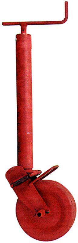 Stützrad halbautomatisch