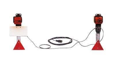 Dreifunktions-Kabelleuchte mit Steckdose