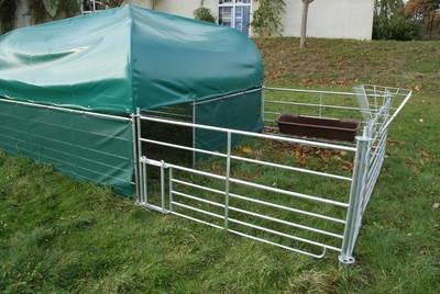 Weideunterstand für Schafe & Ziegen
