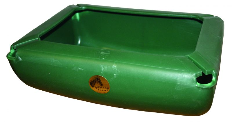Pferdetrog von OK Plast 17 Liter Inhalt