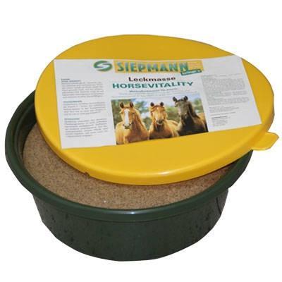 Mineralleckschale für Pferde / Horsevitality