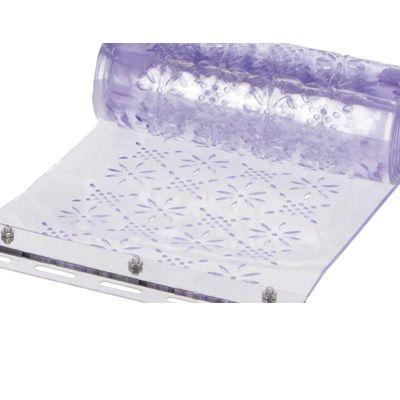PVC-Streifen mit Stanzöffnungen