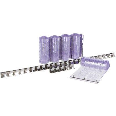 Fliegen-Streifen-Vorhang-Set PVC
