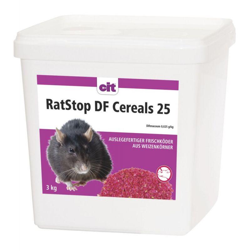 Rat Stop DF Cereal 25