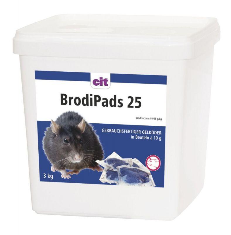 BrodiPads 25 3kg