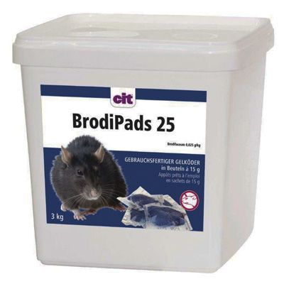 BrodiPads 25  3 kg