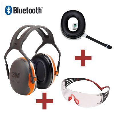 3M Peltor X4 Kapselgehörschutz mit Bluetooth Freisprecheinrichtung