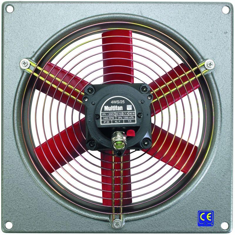 Ventilator 4WS25 mit 1200m³ Luftleistung