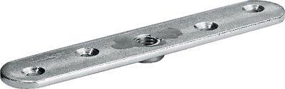 Anschraubplatte Stahl verzinkt