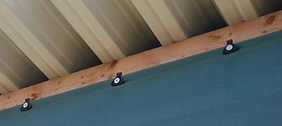 Befestigung eines Netzes mit Clips