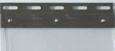 Lamellenstreifen mit Pendelblech 20 cm breit