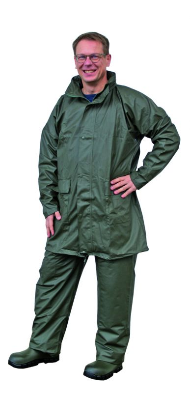 Flexible PU-Regenjacke