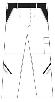 Damen Bundhose Highline - Schnitt