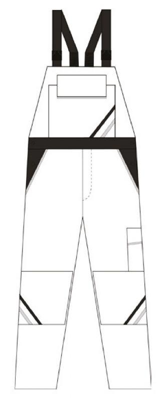Damen Latzhose Highline - Schnitt