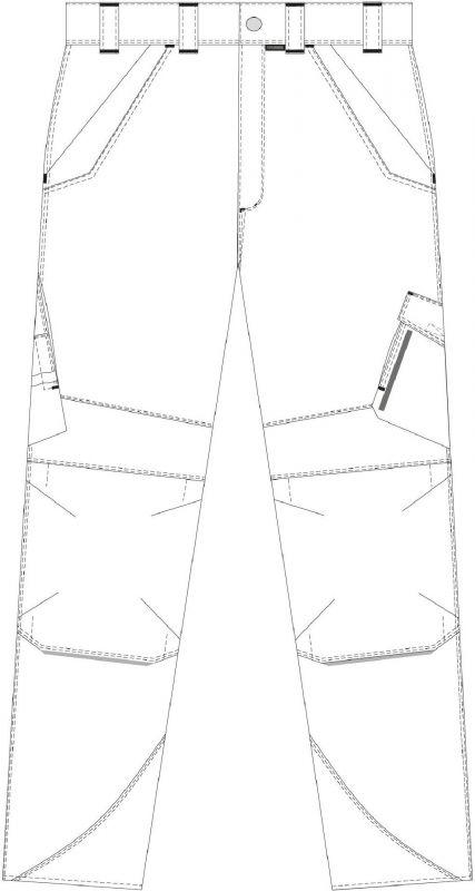 Planam Bundhose Norit - Schnitt