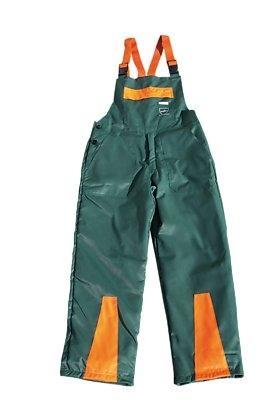 Schnittschutz-Latzhose grün
